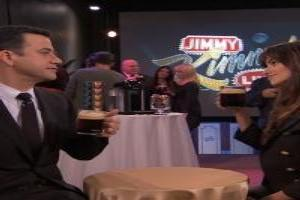 Video: BWW Office Favorites - Jimmy Kimmel Meets Nespresso VertuoLine Coffee And Penelope Cruz at Jimmy Kimmel Live