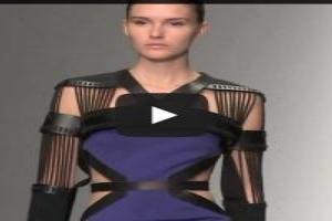 VIDEO: David Koma Spring/Summer 2014 | London Fashion Week