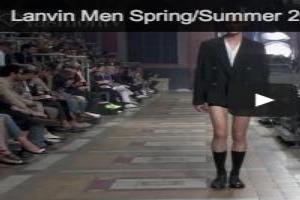 VIDEO: Lanvin Men Spring/Summer 2014 | Paris Men's Fashion Week