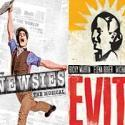 What's Playing on Broadway This Labor Day? NEWSIES, EVITA, MAMMA MIA! and More!