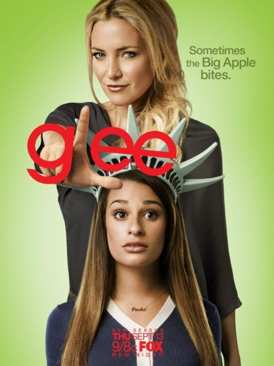 Twitter Watch: Lea Michele-'Check out the new poster for GLEE season 4!'