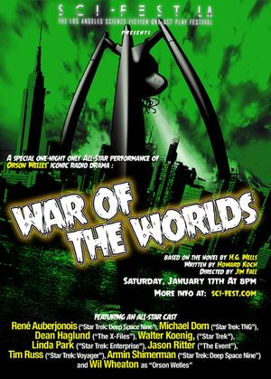 Star Trek Alumni Gather for WAR OF THE WORLDS Benefit Performance Tonight at Sci-Fest LA