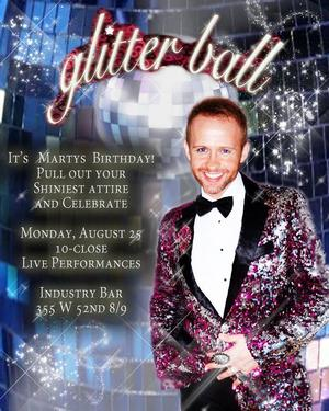 Marty Thomas Present Diva Hosts Glitter Ball with Guest Rachel Potter Tonoght
