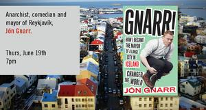 Jon Gnarr and Hamilton Nolan to Appear at the Strand Book Store, 6/19