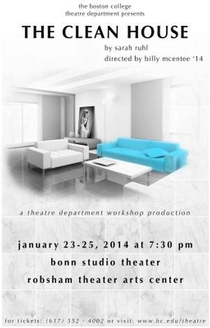 Boston College Theatre to Present THE CLEAN HOUSE, 1/23-25