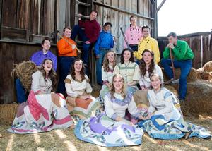 SCERA Shell Outdoor Theatre to Present SEVEN BRIDES FOR SEVEN BROTHERS, 8/1-16