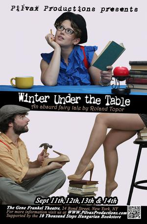 French Play WINTER UNDER THE TABLE Comes to NYC in New English Translation, 9/11-14
