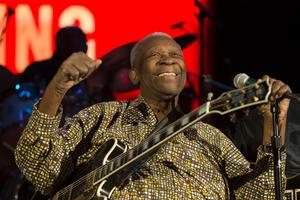 B.B. King to Return to the Van Wezel, 1/4