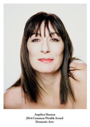 Anjelica Huston to Receive 2014 Common Wealth Award for Dramatic Arts, 4/5