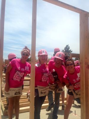 SIGHTING: Jayne Avaunt, Shenae Grimes, Josh Beech, Camilla Belle, Kelly Rowland Build Homes for Habitat For Humanity