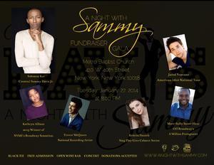MISTER DAVIS A NIGHT WITH SAMMY to Host Fundraising Gala, 1/27