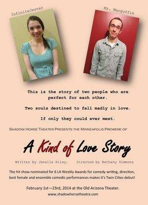 Shadow Horse Theater Company to Present A KIND OF LOVE STORY, 2/1-23