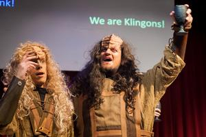 Compassionate Klingons to Help the Hungry 12/2 at KLINGON CHRISTMAS CAROL