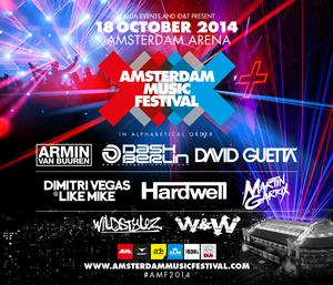 Armin van Buuren, Dash Berlin, Hardwell and More Set for Amsterdam Music Festival 2014; Lineup Announced!