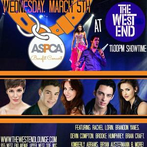 ASPCA Benefit Concert with Rachel Lorin, Devin Compton & More Set for The West End, 3/5
