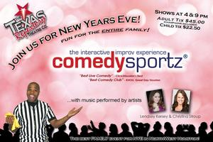 ComedySportz and More Set for Texas Repertory Theatre's New Year's Eve Extravaganza Tonight