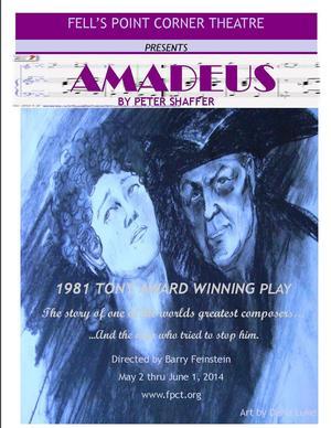 Fells Point Corner Theatre to Present AMADEUS, 5/2-6/1