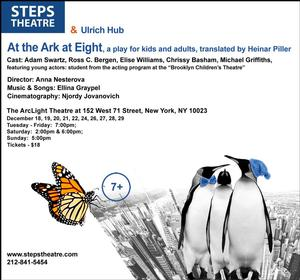 Steps Theatre to Debut AT THE ARK AT EIGHT at The ArcLight, 12/18-29