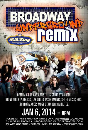 AFTER MIDNIGHT's Jared Grimes to Host BROADWAY UNDERGROUND: THE REMIX at B.B. King's, 1/6