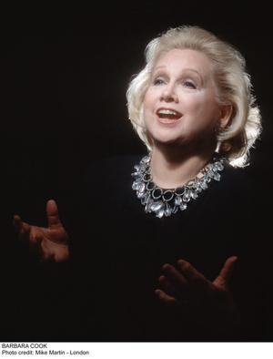Barbara Cook Performs at Kupferberg Center for the Arts Tonight