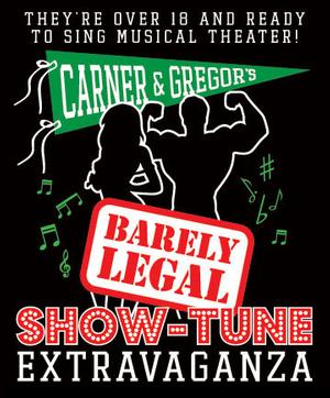 Carner & Gregor to Bring BARELY LEGAL SHOW-TUNE EXTRAVAGANZA to 54 Below, 8/21