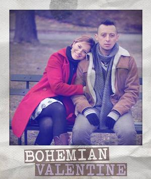 BOHEMIAN VALENTINE with Michaela Alyse Tomcho, Tracy McDowell and Mateo Moreno, Opens at FringeNYC