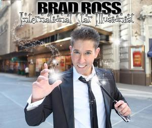 Illusionist Brad Ross to Bring Family Fun to Centenary Stage, 4/13