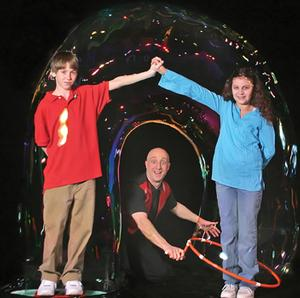 bergenPAC to Present Casey Carle's BUBBLEMANIA, 2/15