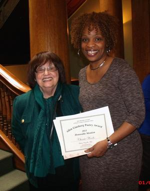 Spoken Word Artist Cherrie Amour Honored at Allen Ginsberg Poetry Reading & Awards Ceremony