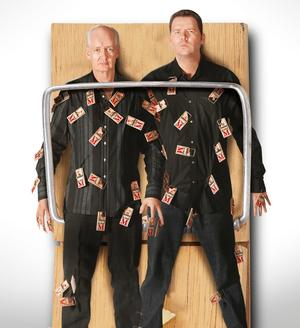 Colin Mochrie and Brad Sherwood bring Two Man Group Act to State Theatre on February 7th