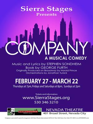 Sierra Stages to Kick Off 6th Season with COMPANY, 2/27-3/22