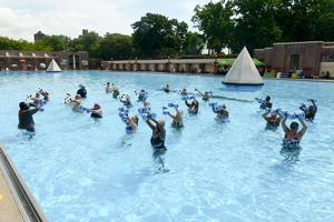 NYC Parks Host First Splash of the Season and Kick Off