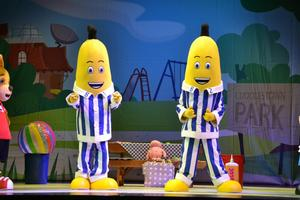 BANANAS IN PYJAMAS and Free Banana Milkshakes