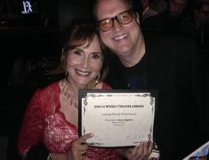 Diana Angelina Wins L.A. Weekly Theater Award for REMEMBRANCE at Theatre Forty