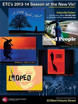 A LITTLE NIGHT MUSIC to Open Ensemble Theatre Company's 2013-14 Season, 12/5