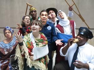 EMERGENCY!!! OR THE WORLD TAKES A SELFIE Opens TNC Street Theater's 2014 Tour Today