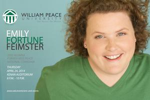 William Peace Welcomes Comedian and Alumna Emily Fortune Feimster Today