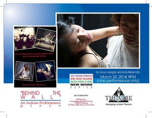 Emerging Artists Theater Brings 'BEHIND THE WALL-An Autism Performance Piece' to Tada Theater Tonight