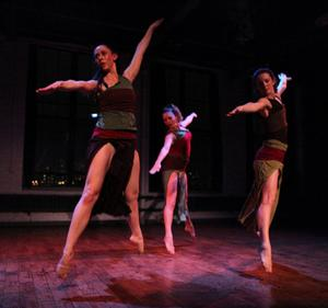 Dance Entropy to Present 2014 GREEN SPACE BLOOMS Festival, 4/10-13