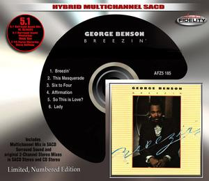 Audio Fidelity to George Benson's 'Breezin' On Multichannel 5.1-Surround Sound Hybrid SACD