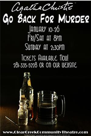 Clear Creek Community Theatre to Present GO BACK FOR MURDER, 1/10-26