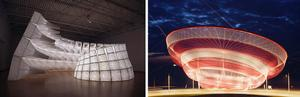 Janet Echelman & John Grade Open International Sculpture Symposium at Art Miami Basel Week Today