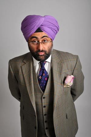 Stand-Up Comic Hardeep Singh Kohli Tours the UK thru Sept 2014