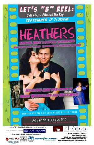 Seacoast Repertory Theatre Presents HEATHERS Screening as Part of Cult Classic Film Series, 9/17