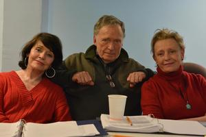 Rehearsals Underway for HELLMAN v. McCARTHY with Dick Cavett, Roberta Maxwell & Marcia Rodd