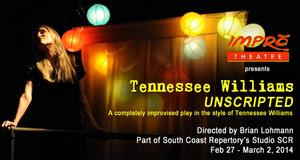 Impro Theatre to Present TENNESSEE WILLIAMS UNSCRIPTED at SCR, 2/27-3/2