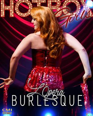 The Hot Box Girls Perform L'Opera Burlesque at Duane Park Tonight
