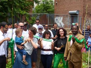 NYC Parks Cuts Ribbon on Keap Fourth Garden in Brooklyn