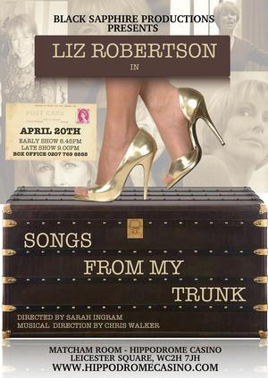 Liz Robertson to Bring SONGS FROM MY TRUNK to The Hippodrome, April 20