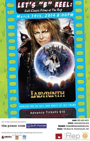 Seacoast Repertory Theatre to Host Interactive Screening of LABYRINTH, 3/14